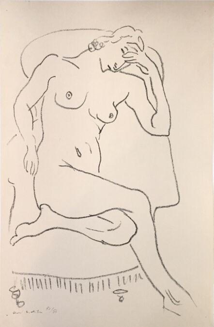 Henri Matisse, 'Nu Assis dans un Fauteuil, une Jambe Repliée', 1922