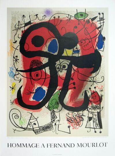 Joan Miró, 'Le Lezard Aux Plumes D'or', 1993