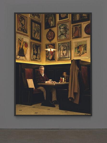 Rodney Graham, 'Artist in Artists' Bar, 1950s', 2016