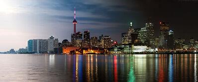 Andrew Prokos, 'Night & Day - Toronto Skyline', 2015