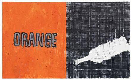 Troels Wörsel, 'Orange & Scotch (diptych)', 1983