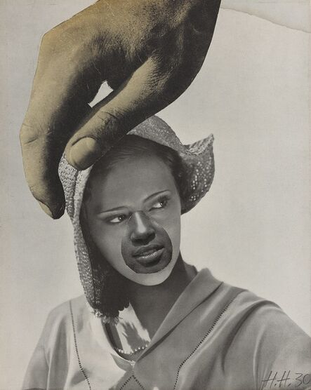 Hannah Höch, 'Untitled (Large Hand Over Woman's Head)', 1930