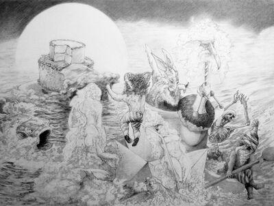 Daniel Birdsong, 'Meridian Passing (Study)', 2014