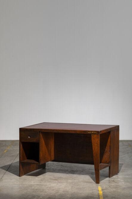 "Pierre Jeanneret, '""Base Building "" Desk', ca. 1957"