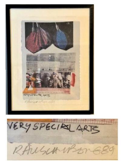 "Robert Rauschenberg, '""Very Special Arts"", 1989, SIGNED, A/P', 1989"