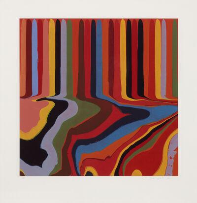 Ian Davenport, 'Bright Red Etching', ca. 2011