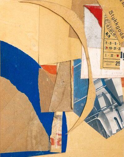 Kurt Schwitters, 'Untitled (Pieces Goods) / Ohne Titel (Stykkgods)', 1937