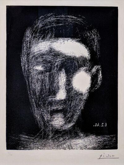 Pablo Picasso, 'TETE DE GARCON (BLOCH 1025)', 1962