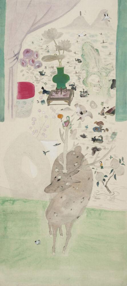 Wang Mengsha 王濛沙, 'The Mountain in View Tower', 2015