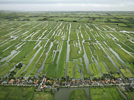 Edward Burtynsky, 'Polders, Grootschermer, The Netherlands', 2011