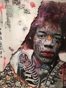 Stikki Peaches, 'Jimi Hendrix', 2019