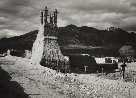 Ansel Adams, 'Ruins of Old Church, Taos', ca. 1929