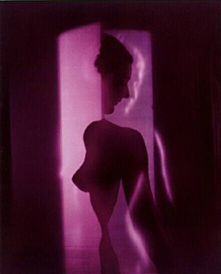 Erwin Blumenfeld, 'Cubistic Purple Nude, New York', 1949