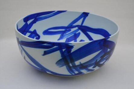 Ivan Weiss, 'Calligraphic Porcelain bowl', 2014