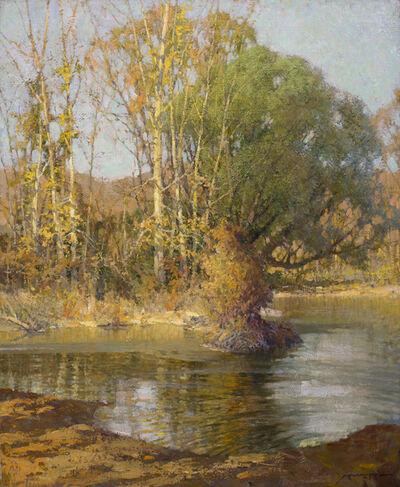 Frederick John Mulhaupt, 'Autumn River Landscape', 19th -20th Century