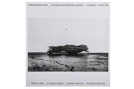 Christopher Wool, 'Galerie Max Hetzler London (Exhibition Poster)', 2020
