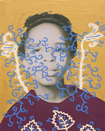 Daisy Patton, 'Untitled (School Days 1948-9 Orchard Knob [gold])', 2018