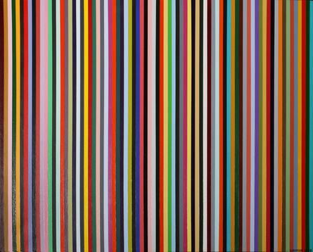 Donna Sensor Thomas, '79 Lines About 79 Colors', 2008
