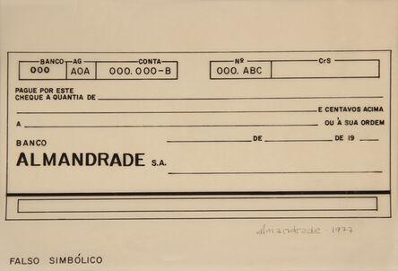 Almandrade, 'Untitled Visual Poem', 1977