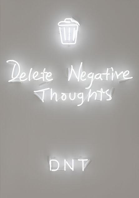 Rachel Lee Hovnanian, 'DNT (Delete Negative Thoughts)', 2018