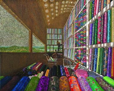 Rim Dong Sik, 'Silk Dealer Mr.Wang-High-rise Shop', 2010