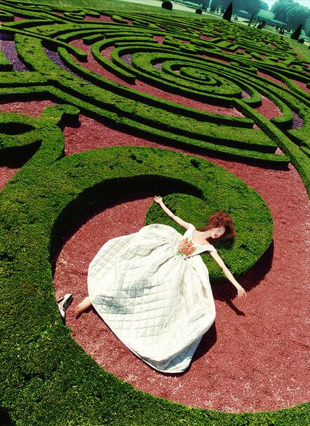 David LaChapelle, 'Collapse in a Garden', 1995