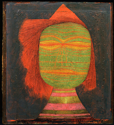 Paul Klee, 'Masque de (Jeune)=Comédien', 1924