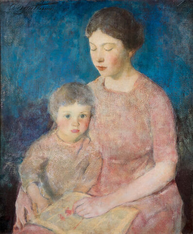 Charles Webster Hawthorne, 'The Story Book', ca. 1917