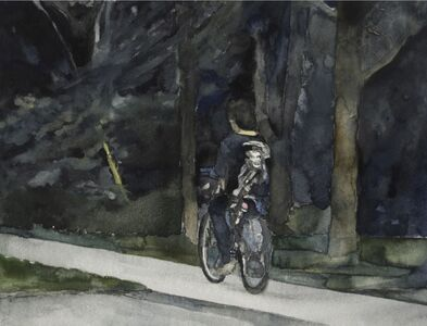 Alex Bierk, 'Untitled (Kid on Bike)', 2019
