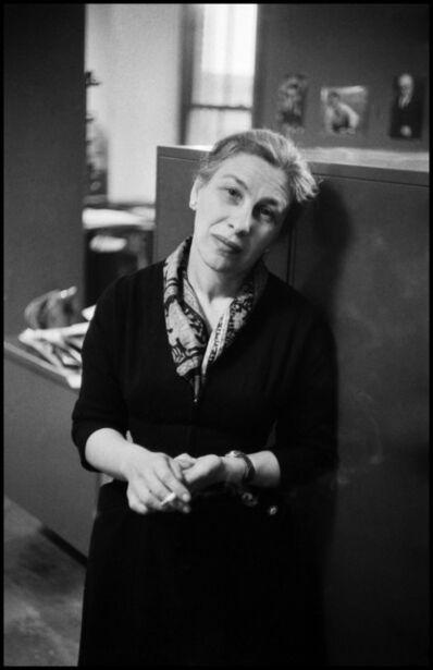 Erich Hartmann, 'Eve Arnold. New York City, USA.', 1957