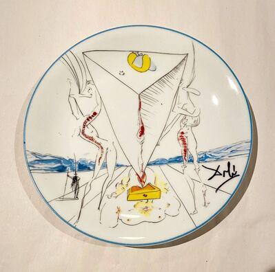 Salvador Dalí, 'Philosophe écrasé par le Cosmos', 1984