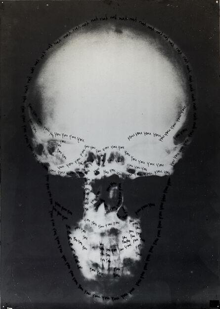 Ketty La Rocca, 'Craniologia', 1973