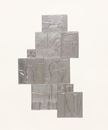 Louise Nevelson, 'Night Tree, Lead', 1972