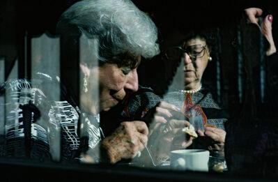 Frank Horvat, 'NY USA, Upper West Side, Old Ladies in a Café', 1986