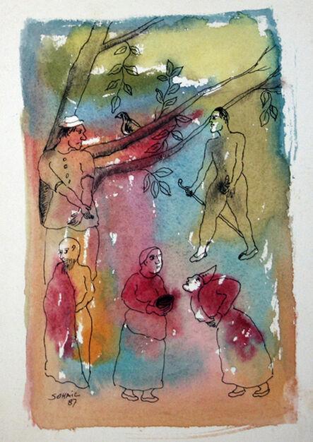 Tasaduq Sohail, 'Untitled', 1987