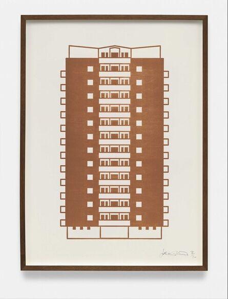Julian Opie, 'Apartment 3', 2021