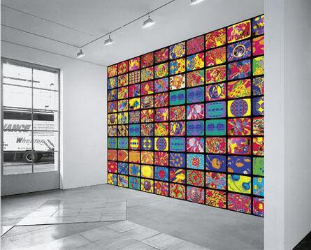 Nam June Paik, 'Computerized One Hundred Flowers', 1998