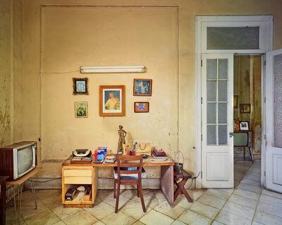 David Burdeny, 'Bedroom Desk, Havana, Cuba', 2014
