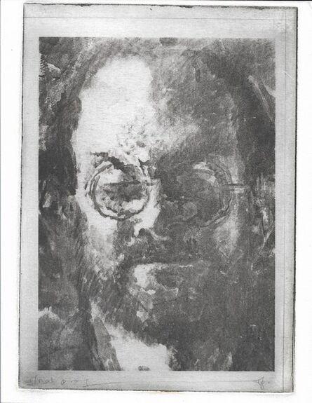 Tom Phillips, 'Salman Rushdie', 1993