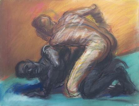 Carlos Almaraz, 'The Struggle of Mankind', 1984