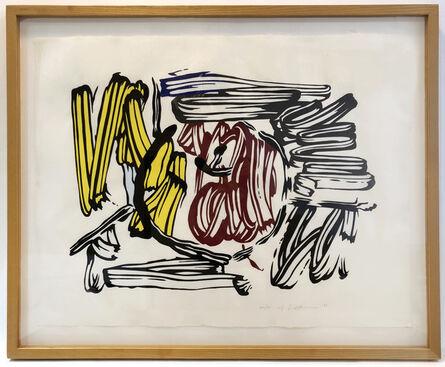 Roy Lichtenstein, 'Red and Yellow Apple', 1982