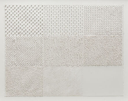 Lars Christensen, 'White Structure / Manual #1', 2014