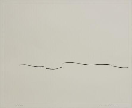 Lee Ufan, 'From Line 7', 1981