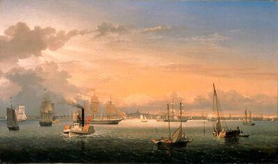 Fitz Henry Lane, 'Boston Harbor', 1854