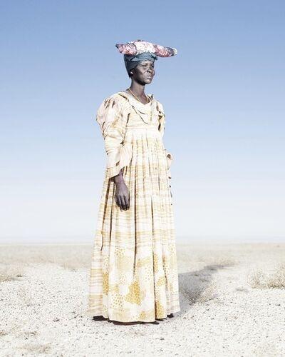 Jim Naughten, 'Herero Woman in Yellow Dress', 2012