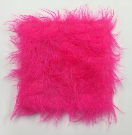 Sylvie Fleury, 'Cuddly Painting (pink)', 2015
