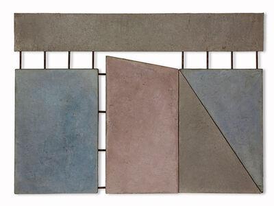 Giuseppe Uncini, 'Dimore', 1982