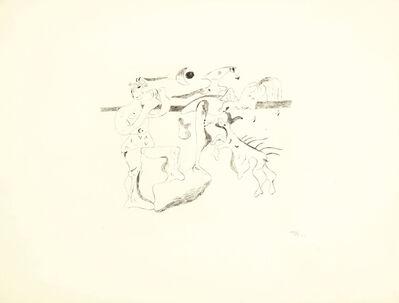 Joan Miró, 'Daphnis et Chloé', 1933