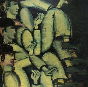 Lester Johnson, 'Men Walking #1', 1968
