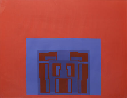 Robyn Denny (1930-2014), 'The Paramount Suite (Red)', 1969